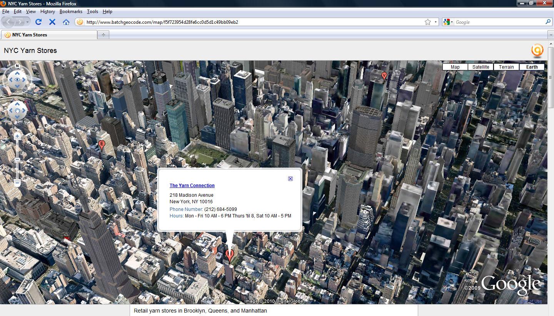 Hey this is neat… (Google Earth Plugin) – BatchGeo Blog